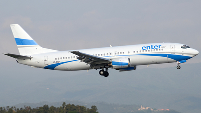 SP-ENF - Boeing 737-4C9 - Enter Air