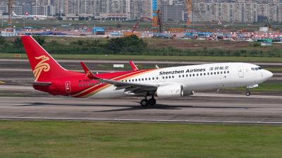 B-5860 - Boeing 737-87L - Shenzhen Airlines