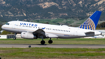 A picture of N837UA - Airbus A319131 - United Airlines - © Ricky Teteris