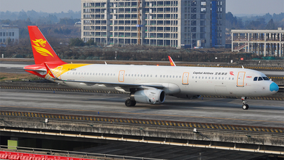 B-8200 - Airbus A321-231 - Capital Airlines