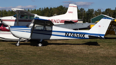 A picture of N7450X - Cessna 172B Skyhawk - [17247950] - © Kevin Porter