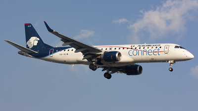 A picture of XAALW - Embraer E190LR - Aeromexico Connect - © chalymtz