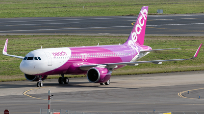 F-WWBY - Airbus A320-251N - Peach Aviation