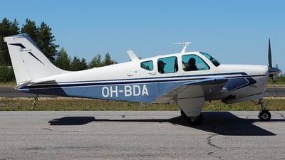 OH-BDA - Beechcraft 35-B33 Debonair - Jukolan Pilotit
