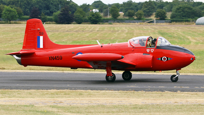 G-BWOT - Hunting Percival Jet Provost T.3A - Private