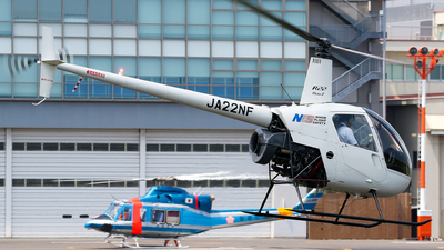 JA22NF - Robinson R22 Beta II - Nihon Flight Safety