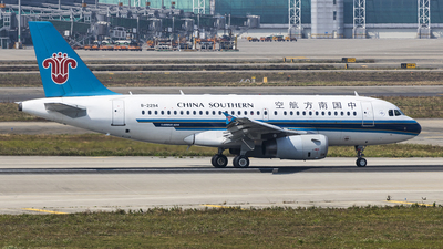A picture of B2294 - Airbus A319132 - [2371] - © David Lee