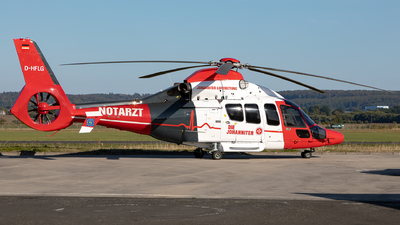 D-HFLG - Eurocopter EC 155 B1 - Heli-Flight