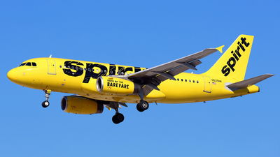 N525NK - Airbus A319-132 - Spirit Airlines