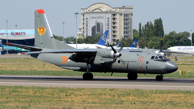 01 - Antonov An-26 - Kazakhstan - Air Force