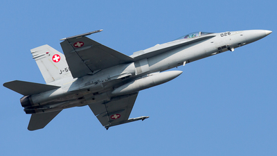 J-5026 - McDonnell Douglas F/A-18C Hornet - Switzerland - Air Force