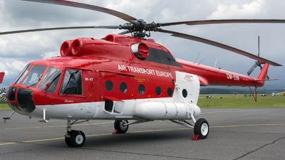 OM-EVA - Mil Mi-8T Hip - Air Transport Europe (ATE)