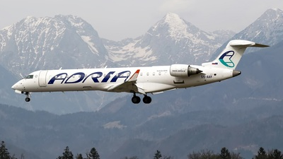 S5-AAY - Bombardier CRJ-701 - Adria Airways