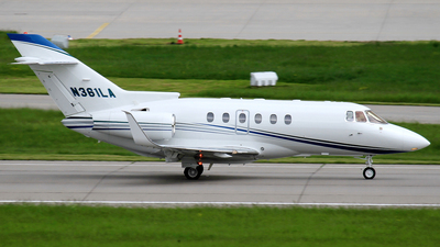 N361LA - Raytheon Hawker 800XP - Private