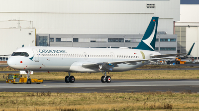 D-AZAD - Airbus A321-251NX - Cathay Pacific Airways