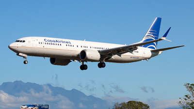HP-9904CMP - Boeing 737-9 MAX - Copa Airlines