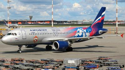 VP-BWD - Airbus A320-214 - Aeroflot
