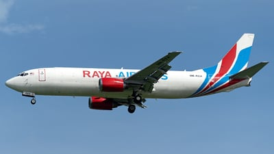 9M-RZA - Boeing 737-4Q3(SF) - Raya Airways