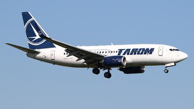 A picture of YRBGI - Boeing 73778J - Tarom - © Mark de Bruijn