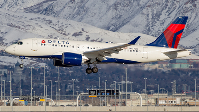 A picture of N137DU - Airbus A220100 - Delta Air Lines - © John Marzo