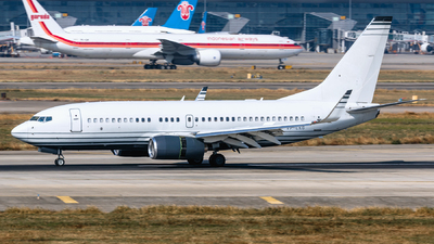 VP-CKG - Boeing 737-7JB(BBJ) - Private