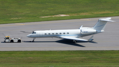 B-HVP - Gulfstream G550 - Private