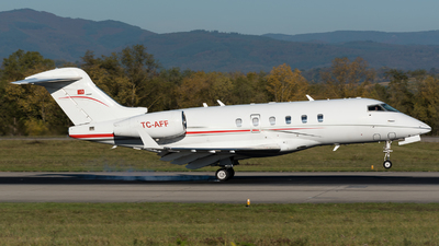 A picture of TCAFF - Bombardier Challenger 300 - [20145] - © Hervé Champain