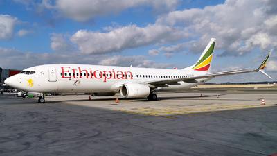 A picture of ETAQN - Boeing 737860 - Ethiopian Airlines - © Turkay Oksuz