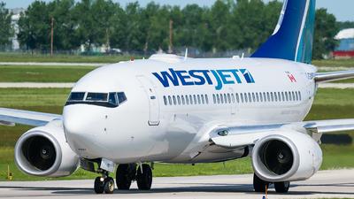 C-GWSU - Boeing 737-7CT - WestJet Airlines