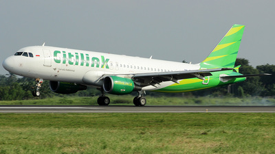 A picture of PKGLS - Airbus A320214 - Citilink - © wakgian31