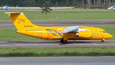 A picture of RA61705 - Antonov An148 - [4007] - © Max Bugayev