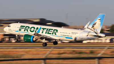 A picture of N367FR - Airbus A320251N - Frontier Airlines - © Hongming Zheng