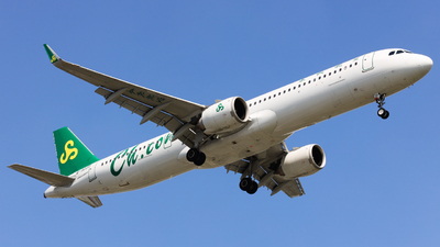B-322P - Airbus A321-253NX - Spring Airlines