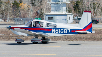 N51687 - Grumman American AA-5B Tiger - Private