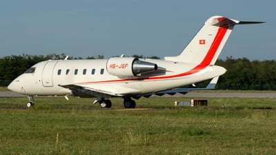 A picture of HBJSF - Bombardier Challenger 650 - [6073] - © András Soós