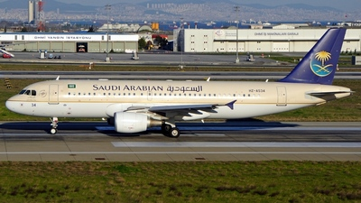 HZ-AS34 - Airbus A320-214 - Saudi Arabian Airlines