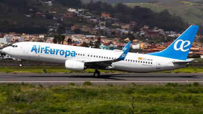 A picture of ECMXM - Boeing 73785P - Air Europa - © Pablo Marín