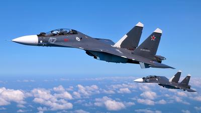 RF-33788 - Sukhoi Su-30SM - Russia - Navy