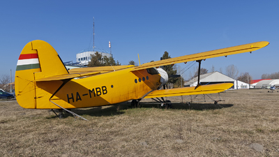 HA-MBB - PZL-Mielec An-2 - Private