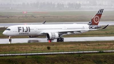 F-WZFR - Airbus A350-941 - Fiji Airways