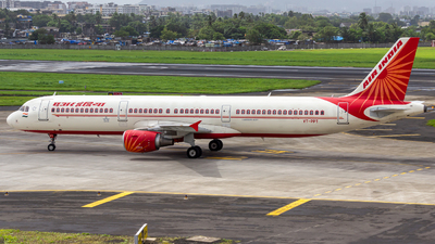 A picture of VTPPT - Airbus A321211 - Air India - © Janam Parikh