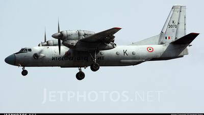 A picture of K3070 - Antonov An32 -  - © Sankalp Sinha
