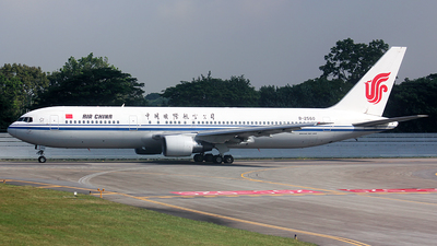 B-2560 - Boeing 767-3J6 - Air China