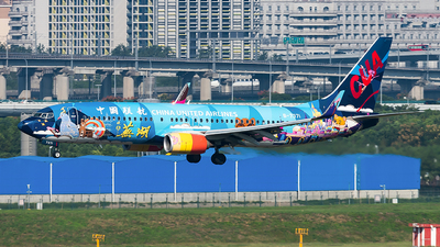 B-7371 - Boeing 737-89P - China United Airlines