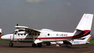 G-JEAC - De Havilland Canada DHC-6-300 Twin Otter - Jersey European Airways