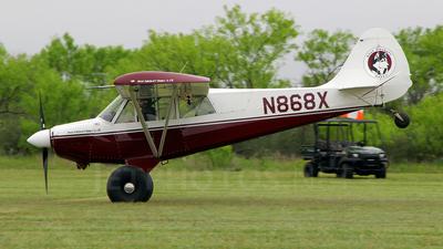 N868X - Aviat A-1B Husky - Private