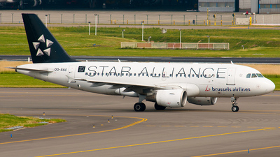 OO-SSC - Airbus A319-112 - Brussels Airlines
