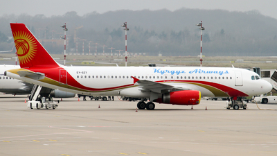 EY-621 - Airbus A320-231 - Kyrgyzstan Airlines