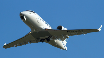 A picture of HZMEJ1 - Bombardier Challenger 604 - [5320] - © Fabrizio Berni