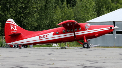 N727KT - De Havilland Canada DHC-3T Vazar Turbine Otter - Rust's Flying Service